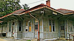 old train depot in Tate GA