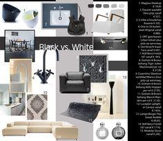Moodboard by HCP Black & White 6. Dornbracht faucet Tara black edition, design icon