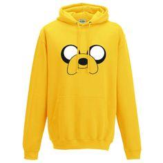 Adventure-Time-Jake-le-chien-a-capuche-Design-Inspire-Drole-Unisexe-Sweat-a-capuche-top