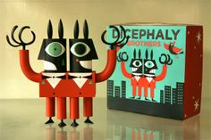 Dicephaly Brothers by Ben Newman | www.nobrow.net/1274