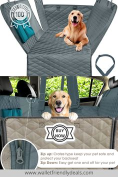 🐶 Your pet dogs deserve comfort when they go out for a drive with you. This specially designed Waterproof Car Seat Cover also helps in cleaning inside car easy. Buy it now for your Dog Wellness . There's no more Dog Travel Anxiety 😊 pet care tips Waterproof Car Seat Covers, Pet Seat Covers, Dog Travel, Travel Tips, Dog Car Accessories, Inside Car, Dog Car Seats, Pet Safe, Car Cleaning