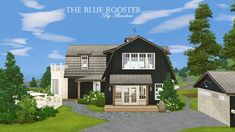 alverdine@MTS - The Blue Rooster (30x40) #Sims3