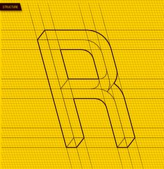 FRUSTRO typeface by Martzi Hegedűs, via Behance