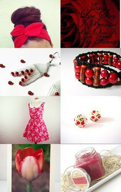 Vibrant Floral  by Chez Violette on Etsy--Pinned with TreasuryPin.com