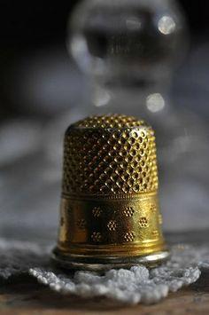 Golden thimble