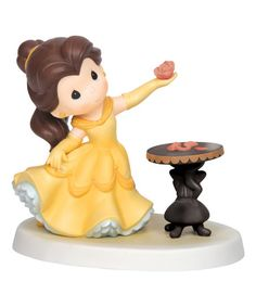 Precious Moments Belle Holding Rose Figurine | zulily