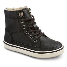 Toddler boys' Haywood High Top Sneakers - Black