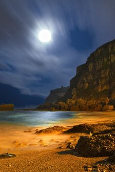 Amazing Snaps: Estano Beach, Spain Gah, so cool. We Are The World, Wonders Of The World, What A Wonderful World, Beautiful World, Places To Travel, Places To See, Places Around The World, Around The Worlds, Paraiso Natural