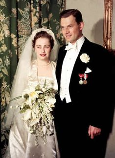 Princess Ragnhild of Norway married Erling Sven Lorentzen, a commoner, May 15, 1953.