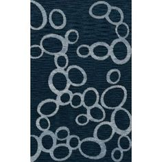 Dalyn Rug Co. Bella Blue Area Rug Rug Size: Square 6'