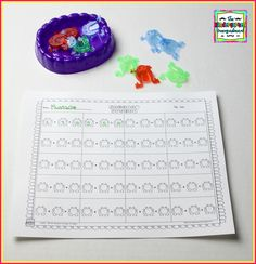 The Kindergarten Smorgasboard: Jumpin Frogs Addition Game!
