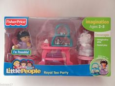 Fisher price little people Royal tea party