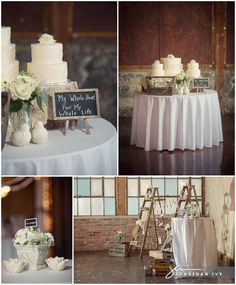 Vintage Chic Wedding Reception Decor captured by Jonathan Ivy Photography