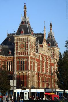 Centraal Station - Amsterdam, Netherlands