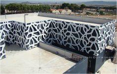 DURALMOND CELOSIA-Gitterwand von StoneslikeStones für die moderne Fassade