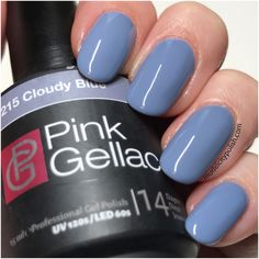 Cloudy Blue from Candy Couture by Pink Gellac | Model City Polish