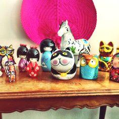 Figuras Table Lamp, Home Decor, Little Cottages, Homemade Home Decor, Table Lamps, Decoration Home, Home Decoration