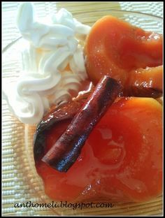 Greek Sweets, Greek Desserts, Greek Recipes, Quince Recipes, Greek Pastries, Cooking Tips, Cooking Recipes, Banana Ice Cream, Appetisers