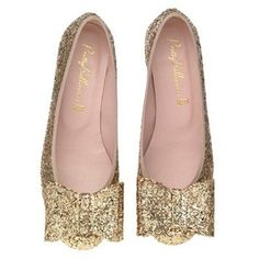 Sparkle Flats to wear with all of your black dresses :)