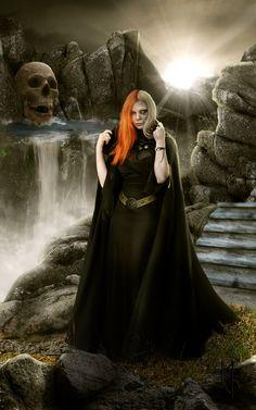 Hel Daughter of Loki