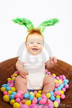 easter = 6 month photos