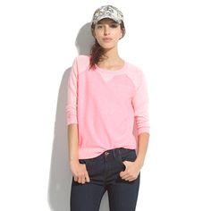 A dressy sweatshirt :)  wear with slim dark denim and a metallic flat for a cool casual look