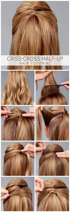 Peinados de trenzas cabello corto para fiesta