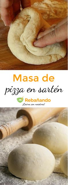 Super fast PIZZA MASS recipe that you can do in 7 minutes in a Frying Pan! Pizza Buns, Eat Pizza, Pizza Gourmet, Thai Chicken Pizza, Homemade Pizza Rolls, Parmesan Pizza, Prosciutto Pizza, Canned Blueberries, Scones Ingredients