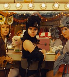 If I were up to halloween, I would have gone as Raven Suzy.~Moonrise Kingdom