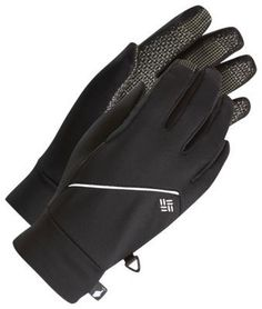 Columbia Trail Summit Running Gloves for Men - Black - L/XL