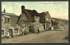 Old Cottages at Chiswell, Portland - Dorset - Ref Old Pictures, Old Photos, Portland Dorset, Old Pub, Old Cottage, British Countryside, Worlds Largest, Cottages, Beautiful Places