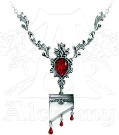 Marie Antoinette Guillotine Necklace