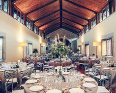 Para la decoración de las mesas los novios contaron con la ayuda de María, de Cardamomo Catering.