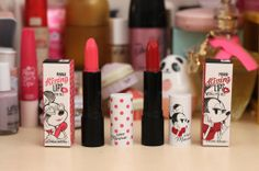 etude house minnie kissing lips lipstick review
