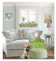 Subtle Spring Decor by terry-tlc on Polyvore featuring interior, interiors, interior design, home, home decor, interior decorating, Universal Lighting and Decor, Rizzy Home, WALL and Stein World