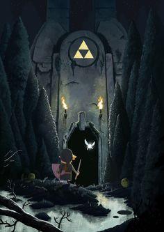 Legend of Zelda by nicolasrix.deviantart.com on @deviantART
