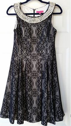 Romantic Betsey Johnson Rockabilly Dress by MyVelvetMoonBoutique