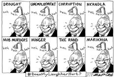 Zapiro: Laughing all the way to Nkandla - Mail & Guardian Different Races, All The Way, Facebook Sign Up, Funny Images, South Africa, Country, Laughing, Funny Things, Cartoons