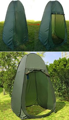 This Portable Pop-up tent is a great way to make a private shelter for toilet, changing clothes or just camping.