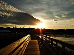 Sunset Bridge by Sharon Rouse, via Flickr