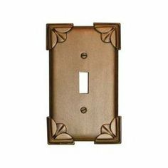 Anne at Home 5019D-5 Pompeii Switch Outlet Cover Switch Plate by Anne at Home. $24.57. Finish:Gold, Configuration:Double Toggle - Two gang plate The Pompeii Pieces have their origin in ancient architectural ornament. Patterns like this have been carved in stone and wood for centuries. One gang plates measure 3-1/16' width Two gang plates measure 4-7/8' width Three gang plates measure 6-11/16' width Four gang plates measure 8-1/2' widthNote: Five gang, six gang, ...