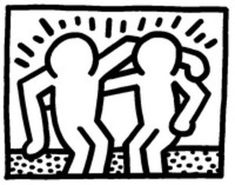insinuatory: I did some Keith Haring transparency edits for my AP art history project Logo D'art, Art Logo, History Projects, Art History, Jm Basquiat, Keith Haring Art, Winter Wolves, Ville New York, Good Buddy