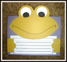 Today In First Grade: Frog and Toad w/freebie