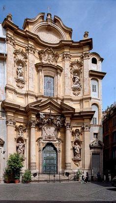 Roma, piazza della Maddalena, Italy