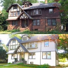 Color Schemes That Work With Brick Tudor House Paint