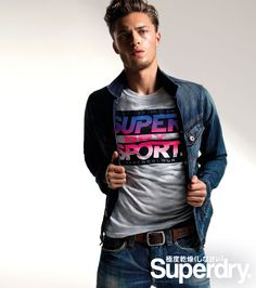 Superdry Introduces Future British Classics for S/S 14 image Harvey Haydon Superdry Spring Summer 2014 Campaign 004