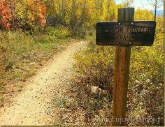 Easy Fall Hike: Historical Pioneer Trail in East Canyon by Enjoy Utah!