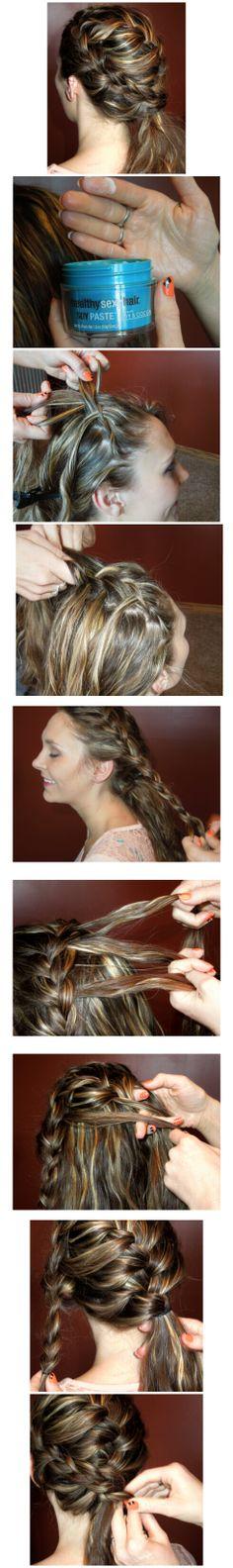 Amy_Robinson2   #GOT #GameofThrones #festivalhair #hairtutorial #coachellahair #sexyhair #howto #DYI #Tutorial #Concerthair