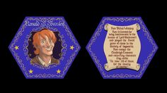Ron's Chocolate Frog Card Harry And Hermione, Ron Weasley, Harry Potter, Chocolate Frog, Jily, Voldemort, Eve, How To Find Out, Books