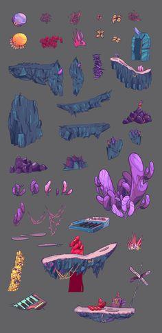HEX - Platform Game by Andrés Ariza, via Behance